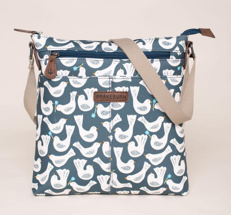 Geo Birds Cross Body Bag