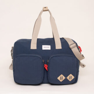 Brakeburn Navy Overnight Bag