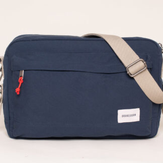 Brakeburn Navy Messenger Bag