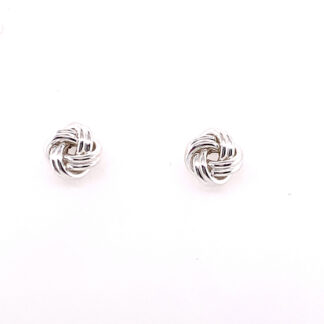 Medium Knot Stud Earrings