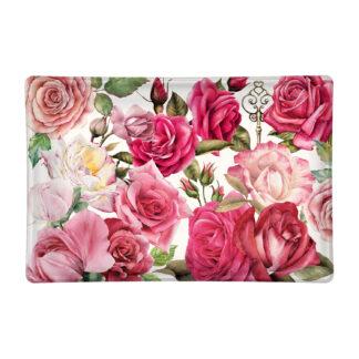 Michel Design Works Royal Rose Glass Soap Dish