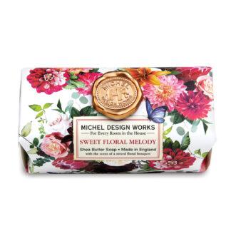 Michel Design Works Sweet Floral Melody Soap Bar