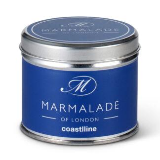 Marmalade Of London Coastline Medium Tin Candle