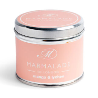 Marmalade Of London Mango & Lychee Medium Tin Candle