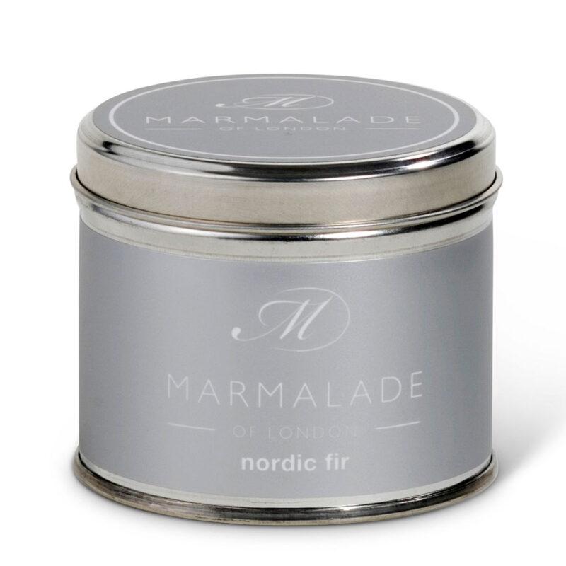 Marmalade Of London Nordic Fir Medium Tin Candle