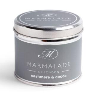 Marmalade Of London Cashmere & Cocoa Medium Tin Candle