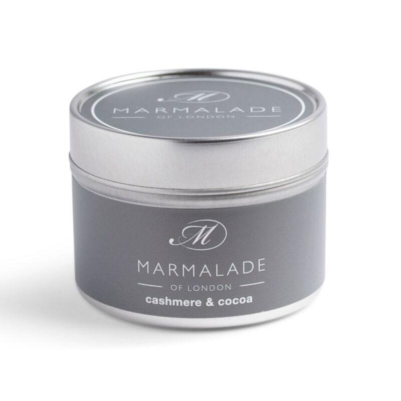 Marmalade Of London Cashmere & Cocoa Small Tin Candle