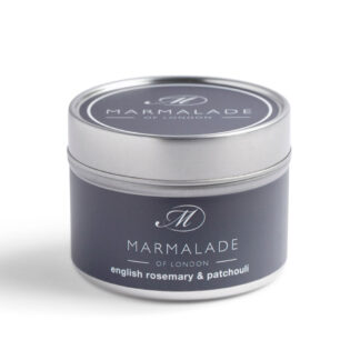 Marmalade Of London English Rosemary & Patchouli Small Tin Candle