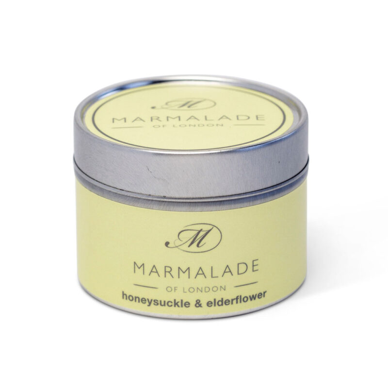 Marmalade Of London Honeysuckle & Elderflower Small Tin Candle