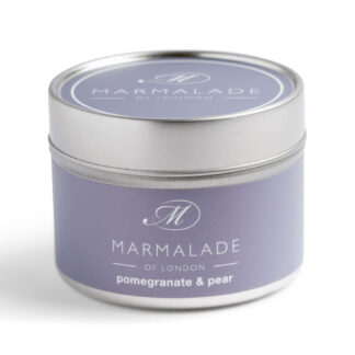 Marmalade Of London Pomegranate & Pear Small Tin Candle