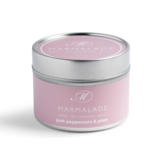 Marmalade Of London Pink Pepper & Plum Small Tin Candle